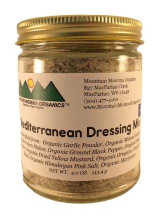 Mediterreanean Dressing Mix (4.0 oz.) 1024