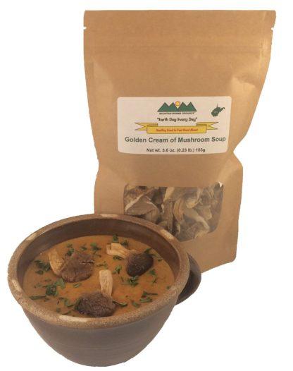 Golden Cream of Mushroom Soup